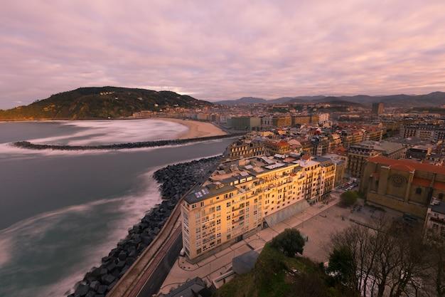 Regardez donostia-san sebastian, pays basque.