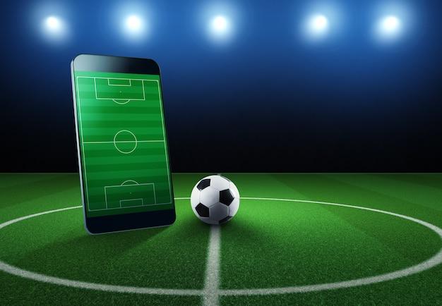 Regardez un événement sportif en direct sur votre appareil mobile