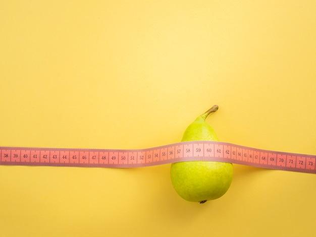 Régime alimentaire, alimentation saine, concept de perte de nourriture et de poids.