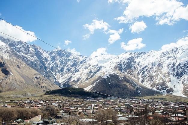 Région de mtskheta-mtianeti en géorgie