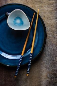Réglage de la table asiatique