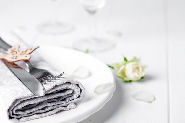 Réglage de la table valentines