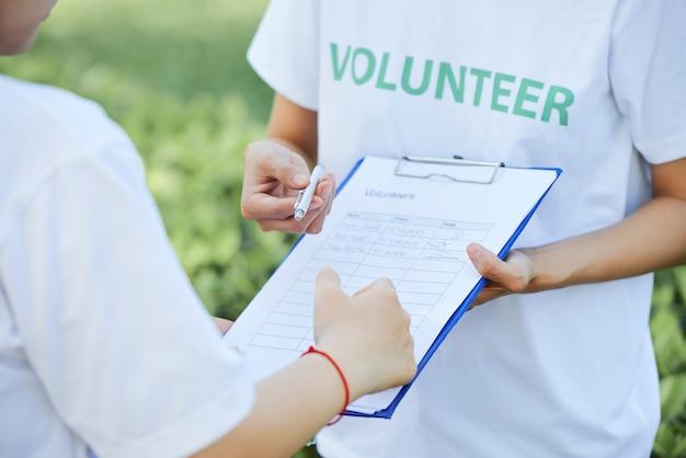 Rejoignez le club des bénévoles