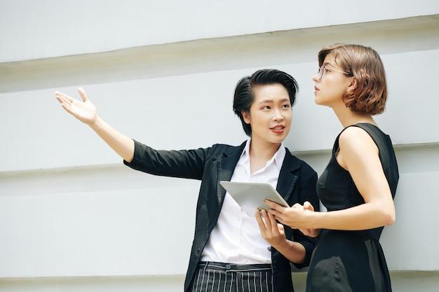 Rencontre du gestionnaire immobilier avec l'investisseur