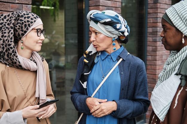 Rencontre de femmes musulmanes en plein air