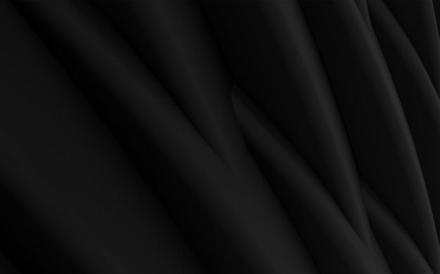 Rendu 3d abstrait sombre