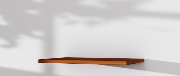 Rendu 3d de l'arrière-plan pour l'affichage des produits, des crèmes et des cosmétiques. pour le produit d'exposition. maquette de vitrine de fond blanc.