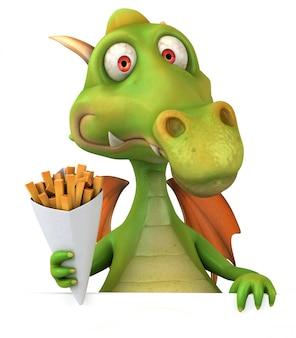 Rendu 3d de dragon