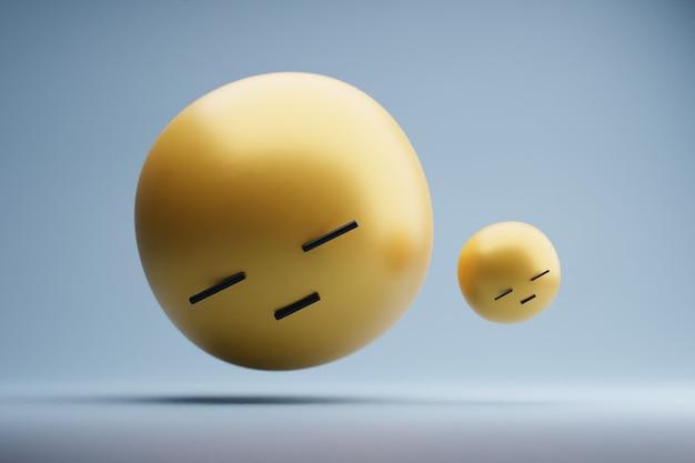 Rendu 3d emoji
