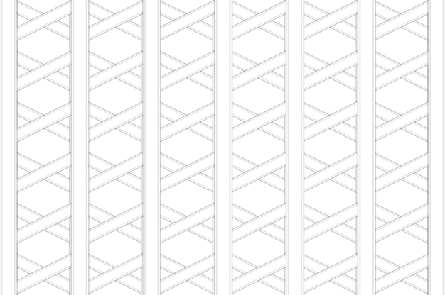 Rendu 3d. fond de conception de mur de motif de maille de forme hexagonale moderne.