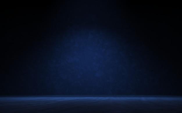 Rendu 3d de fond de projecteur de vitrine de produit