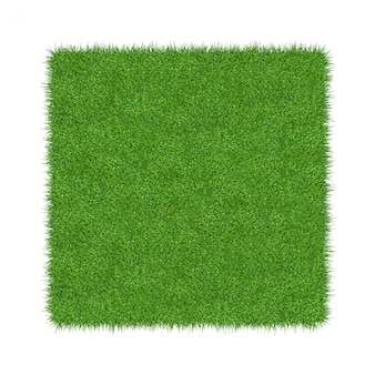 Rendu 3d d'herbe verte. fond de texture naturelle. herbe verte printanière