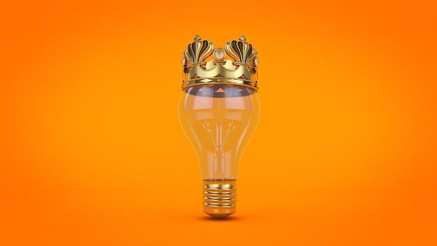 Rendu 3d d'idées gagnantes de concept