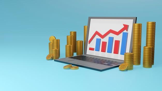 Rendu 3d des investissements et de la gestion financière