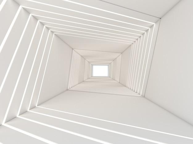 Rendu 3d de résumé dans le tunnel