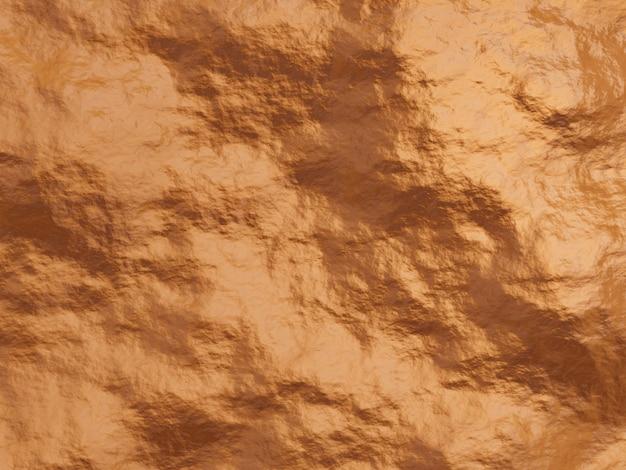 Rendu 3d de roche altérée brun rougeâtre. fond de stonewall.