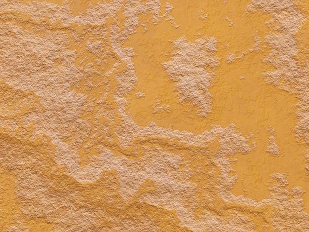Rendu 3d roche patinée brune. fond de stonewall.