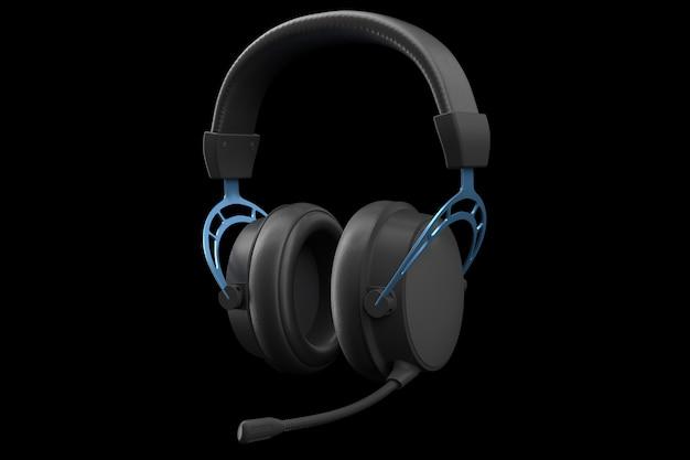 Rendu d des écouteurs de jeu avec microphone pour le cloud gaming et le streaming