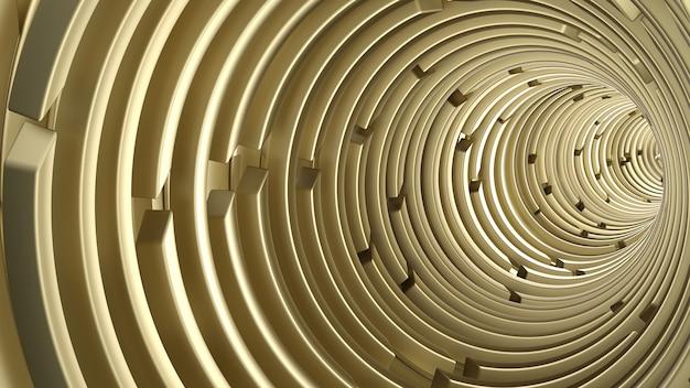 Rendu de fond abstrait géométrique 3d