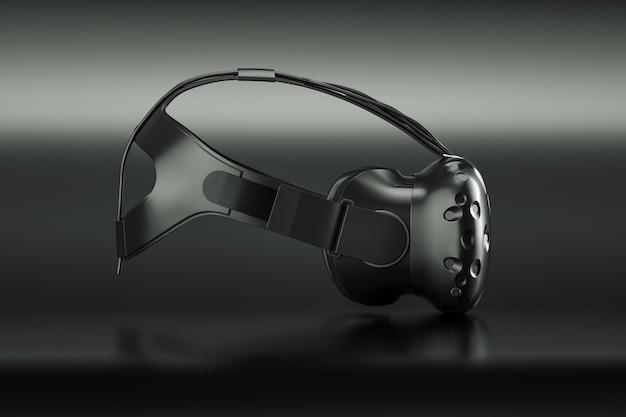 D rendu de googles de réalité virtuelle isolated on white