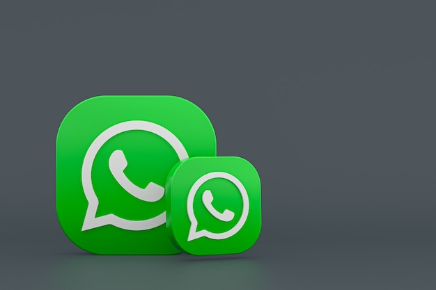 Rendu de l'icône du logo whatsapp