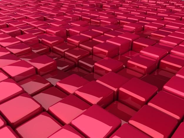 Rendu de texture de fond de boîtes violettes