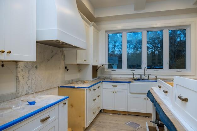 Rénovation de cuisine de beaux meubles de cuisine