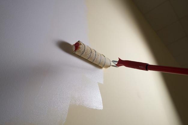 Rénovation de salle d'outils de rouleau de peinture de peinture murale