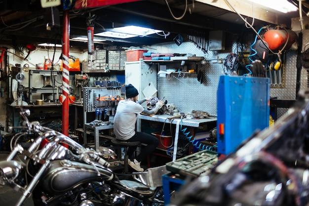 Réparation de carburateur