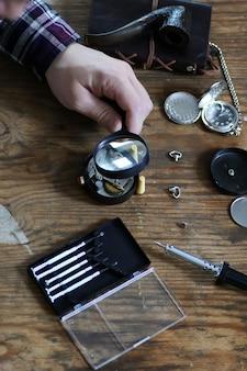 Réparation d'horloge de montre