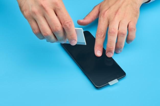 Réparation de vitres de téléphone