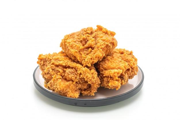 Repas de poulet frit (malbouffe et aliments malsains)