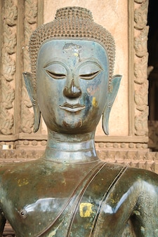 Repère temple asiatique ville phra