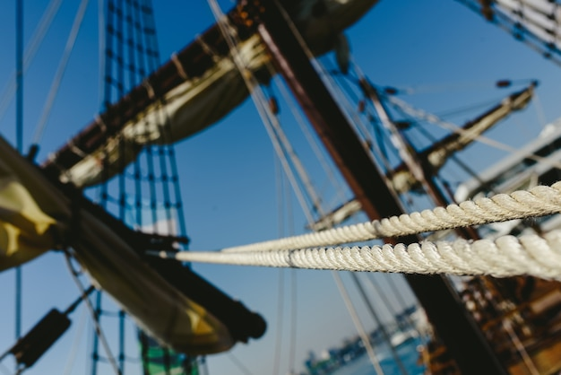 Réplique du voilier santa maria, bateau qui a découvert l'amérique.