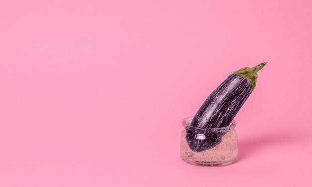 Représentation abstraite de la santé sexuelle avec arrangement alimentaire