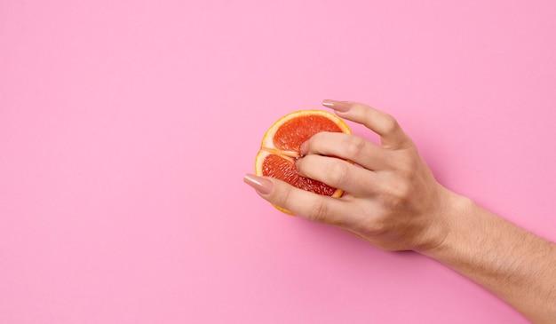 Représentation abstraite de la santé sexuelle avec de la nourriture