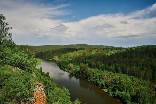 République du bachkortostan, rivières, grotte d'été idrisovskaya.