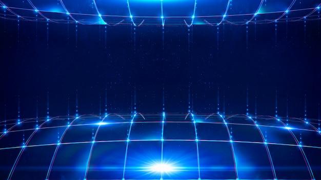 Réseau internet 5g. canal de transmission de données.