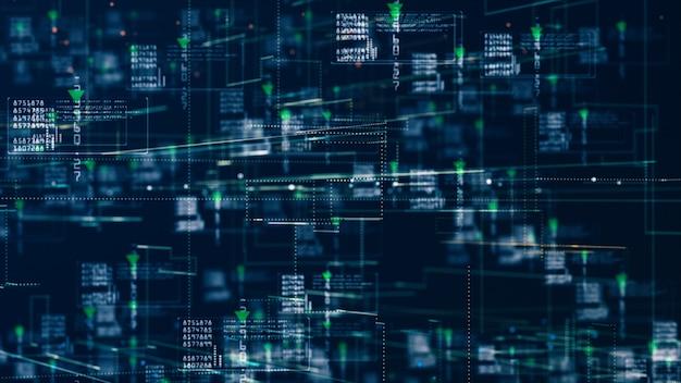 Réseau de technologie pour le marketing internet d'informations holographiques