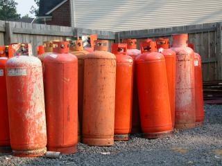 Réservoirs de gaz
