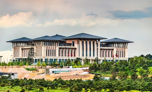 La résidence présidentielle de la république de turquie à ankara