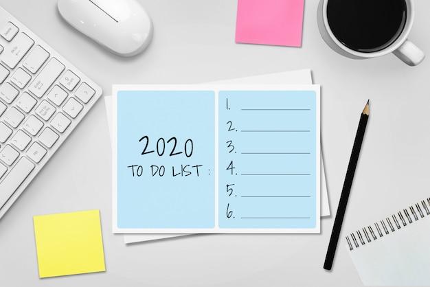 Résolution du nouvel an liste d'objectifs 2020 définition d'objectifs