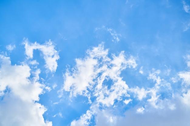 Ressort nuages extérieur bleu météo