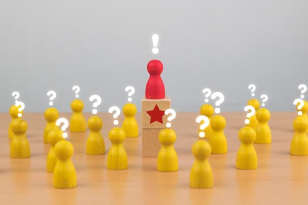 Ressources humaines, gestion des talents, recrutement, concept de chef d'équipe commerciale réussie