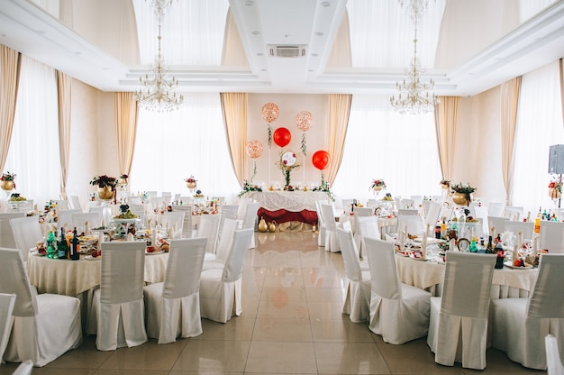 Restaurant avant le mariage