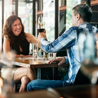 Restaurant chilling out style de vie réservé style réservé