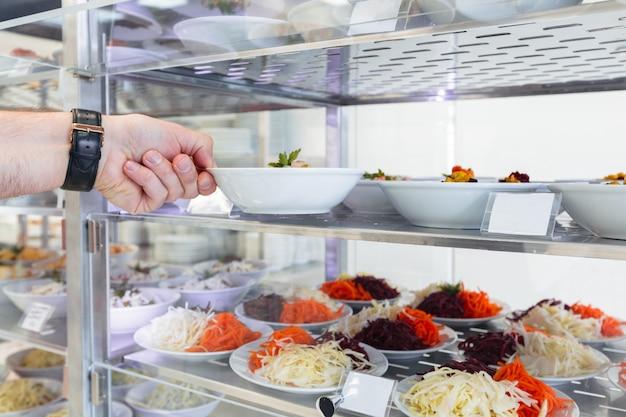 Restaurant self service