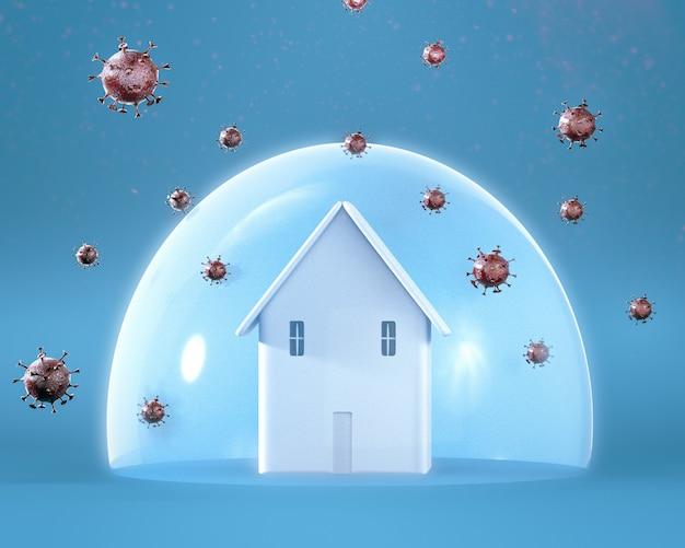 Restez à la maison coronavirus