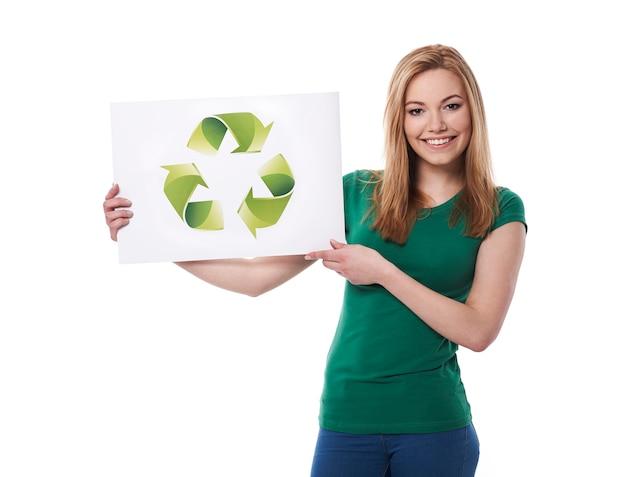 Restez vert et soutenez l'écologie