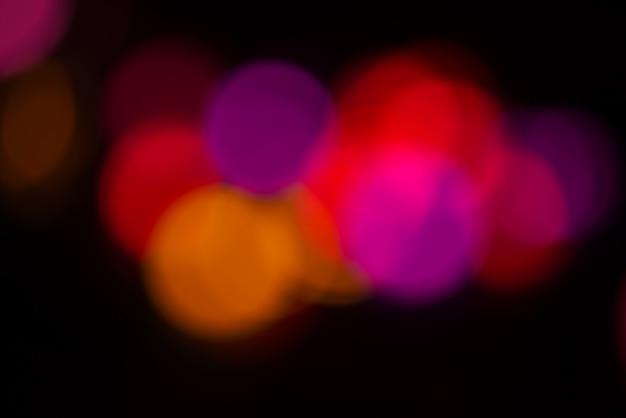 Résumé arrière-plan flou - fuites de lumière